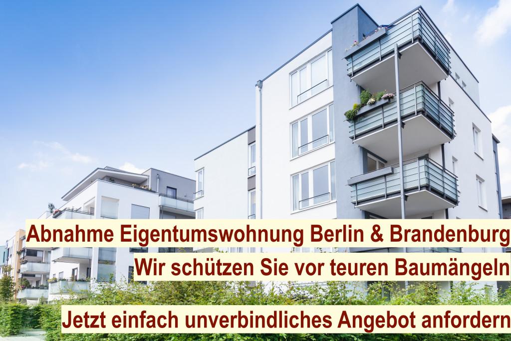 Abnahme Eigentumswohnung Berlin