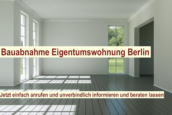 Bauabnahme Eigentumswohnung Berlin